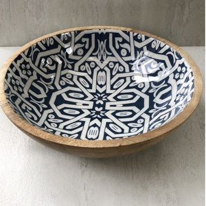 Other - Large Wooden Bowl